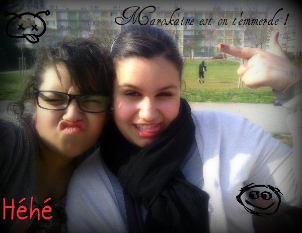 JE L'AIME :) <3 Ma cheriie ;) 13 ans kon sconnait et Jtadoore Ma Soce Ma soeur Tous ske tu veux ;) <3 Mouaah