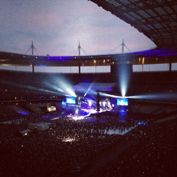 Stade de France avec Rihanna ! :)