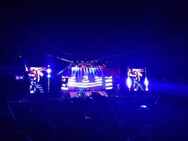 Concert d'Eminem au calme :)