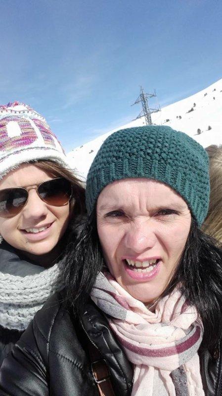 Avec ma maman !!