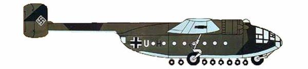 """Arado Ar 232 """"Tausendfüssler"""""""