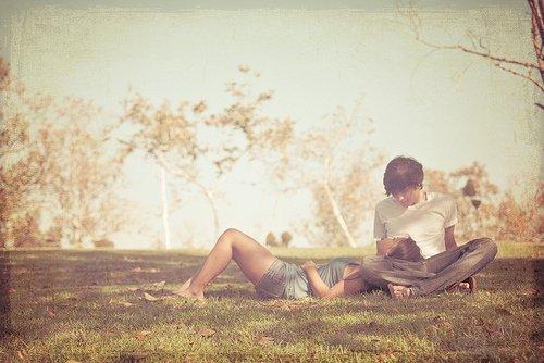 Je t'ai vu dans mes bras, toi le vrai sens de ma vie.