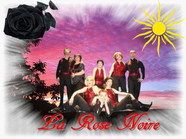 La troupe de la Rose Noire