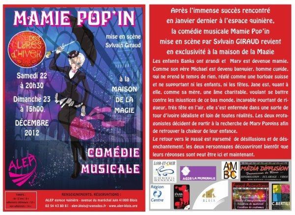 Mamie Pop'in 22 et 23 décembre 2012