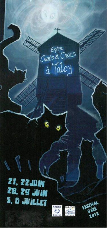 Entre chat et chat festival à Talcy