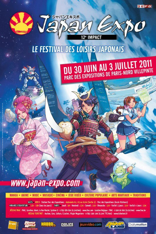Japan Expo!! Biensûr! Tout le monde connait!!