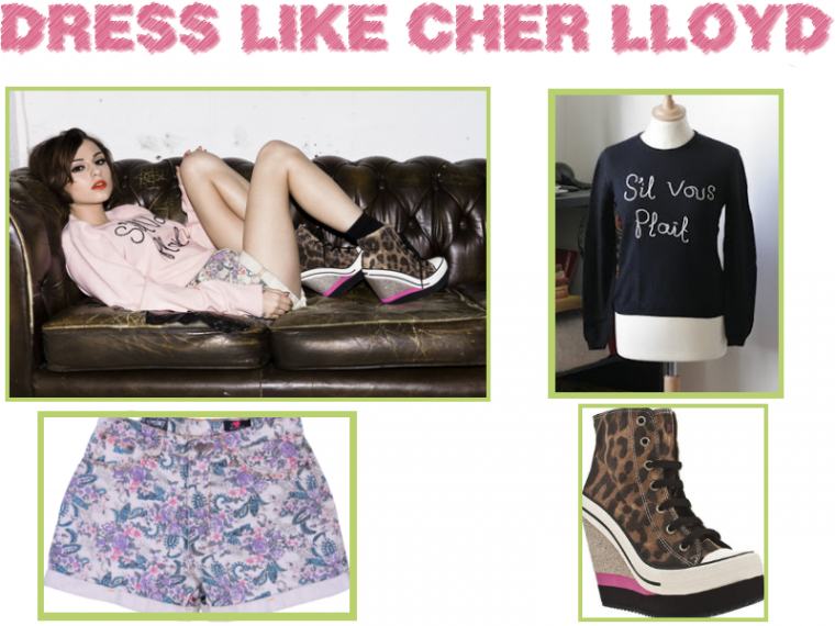 Dress like Cher Llyod dans un  photoshoot de Elliot Morgan , by Marie.