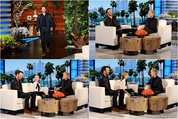 """● 3 Avril 2017 : Chris E. et Mckenna Grace ce sont rendus tout les deux à """" The Ellen DeGeneres Show"""". Puis plus tard notre petit Chris c'est rendus seul à l'émission de """"Jimmy Kimmel"""", il était bien habillé pour location. TOP !"""