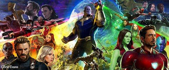 """● 23 Juillet 2017 : Découvrez la fresque officiel pour le prochain film de Marvel """"Avengers : Infinity War"""" Je peut vous dire que c'est un des films de Marvel que j'attend le plus au cinéma. Sinon vous en pensez quoi vous ?"""