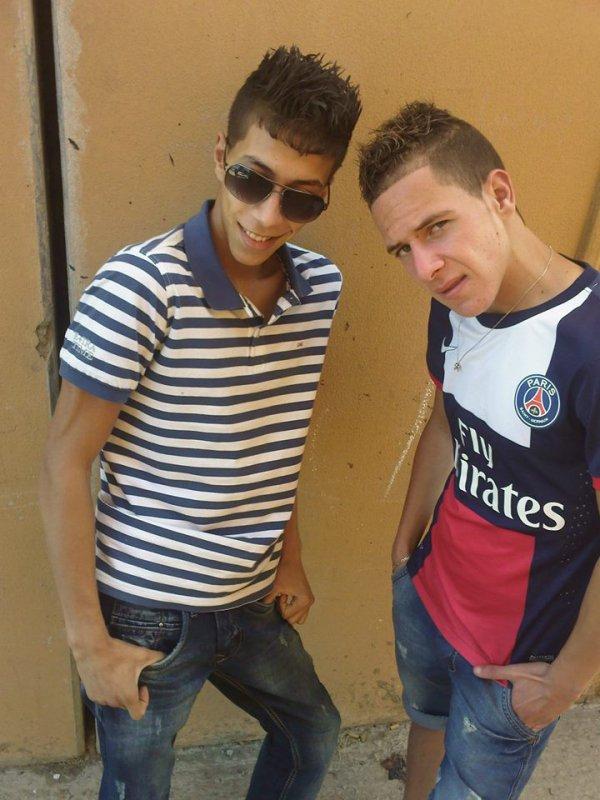 avec mon frère djaafer