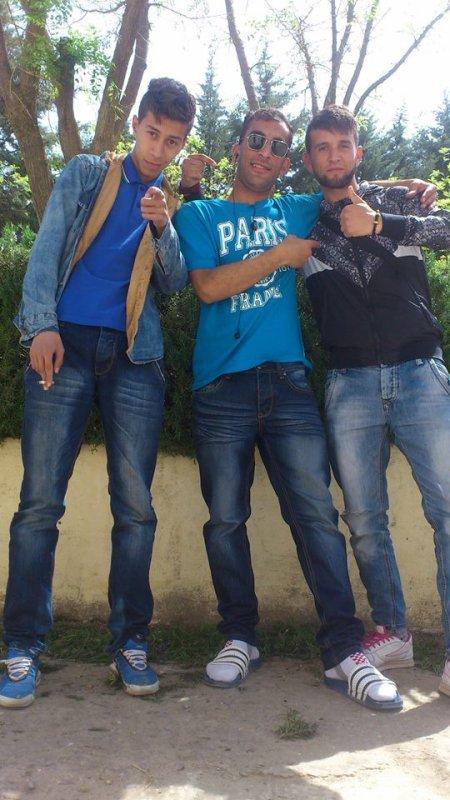 avec mes amis kamel et amer