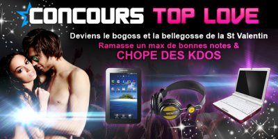 Concours TOP LOVE