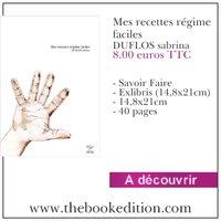 """Nouveau livre """"mes recettes régime facile"""""""