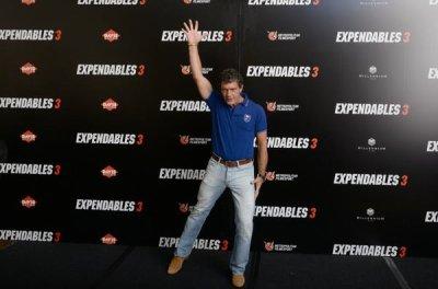 """Conference de presse et photocall a Paris pour l'AVP de """"Expendables 3"""""""