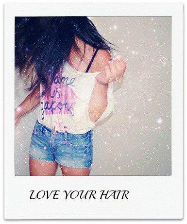 Avoir de longs et beaux cheveux