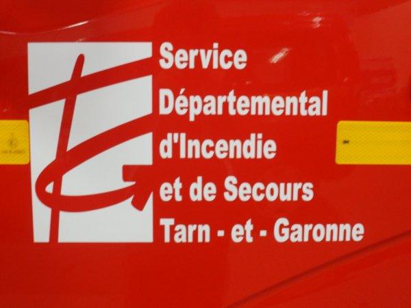 Le logo du SDIS 82