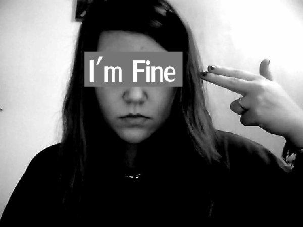 Je suis au fond du trou. Je tombe plus que je ne me relève. [Never-giive-up]
