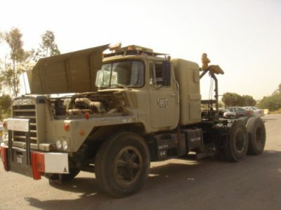 Mack dm 800 israel - great trucks