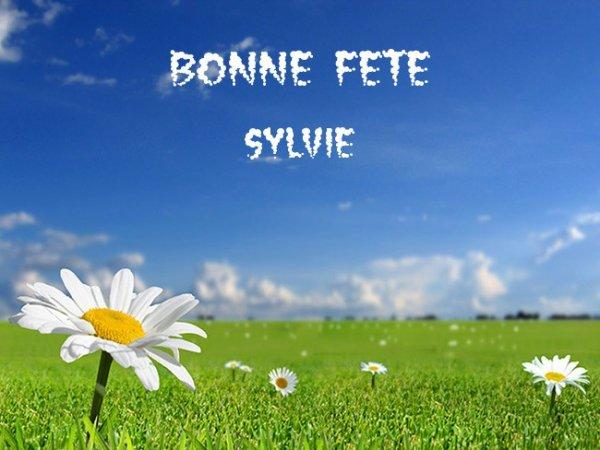 bonne fete a notre belle Sylvie Vartan