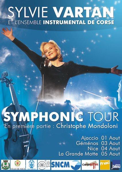 la tournée d'étè 2013 de  Sylvie Vartan