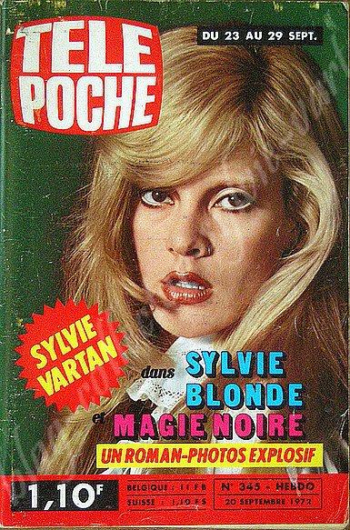 tele poche avec couverture Sylvie Vartan sept 1972