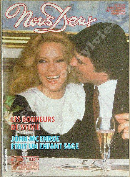 magazine nous deux , du 1er au 07 aout 1984