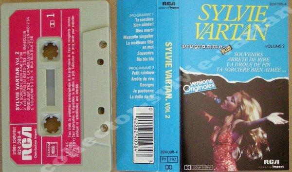 k7 audio compil sylvie vartan de 1984