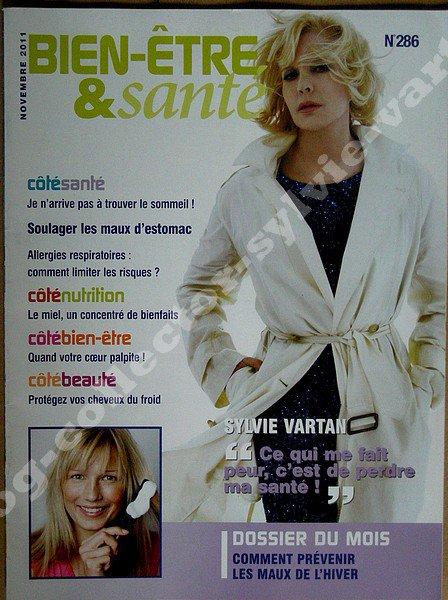 magazine numero 286 novembre 2011, bien etre & santé