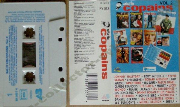 k7 audio salut les copains vol2 1982