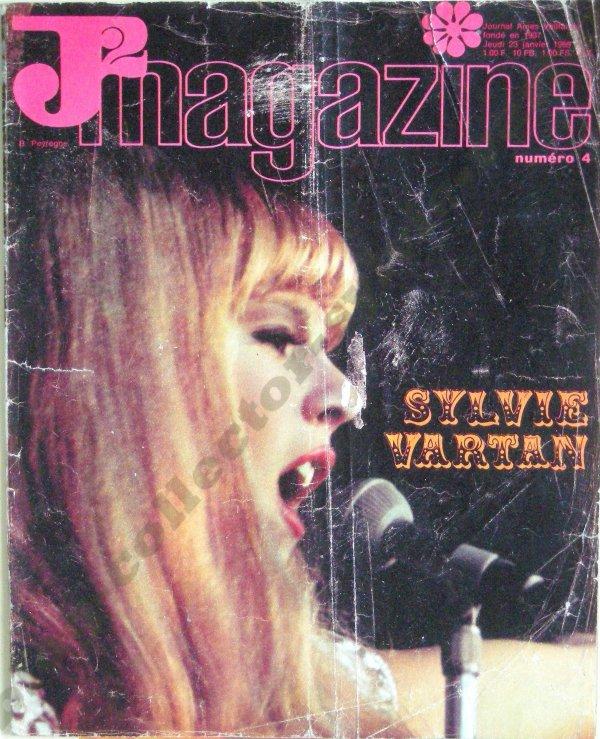 J2 magazine numèro 4 , de janvier 1969