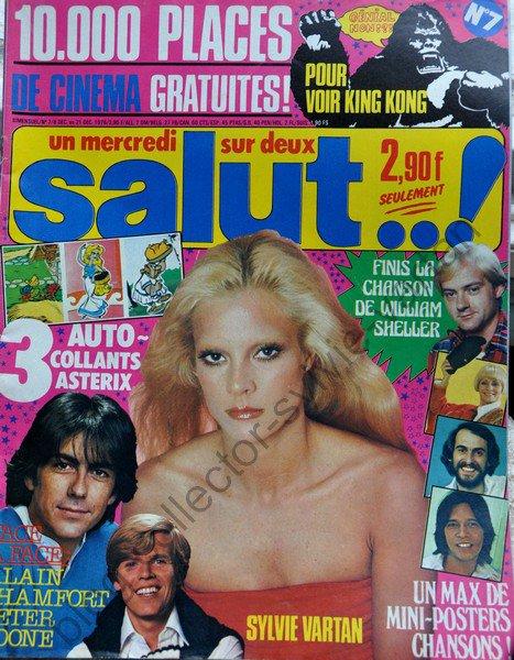 magazine salut numéro 7  du 8 déc au 21 déc 1978