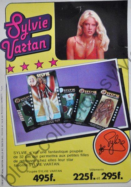 catalogue jouet poupée sylvie vartan , catalogue belge 1978