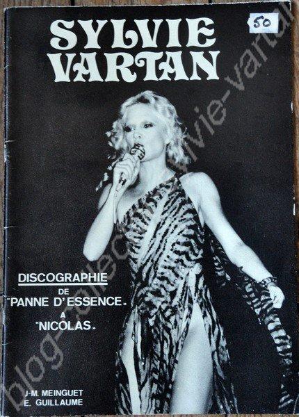 magazine sylvie vartan 1ere edition 1980