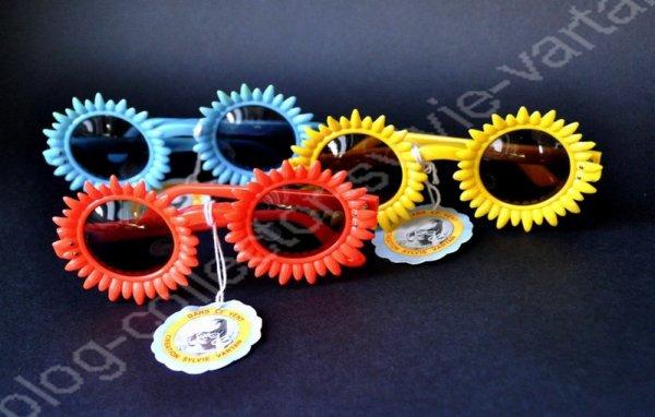 collection boutique sylvie vartan  lunette 1965/1966