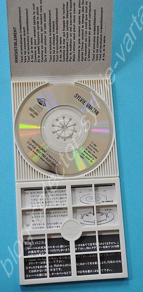 mini cd avec version différente pour irresistiblement et la plus belle pour aller danser special pour le japon sylvie chante en francais   mini cd 1988