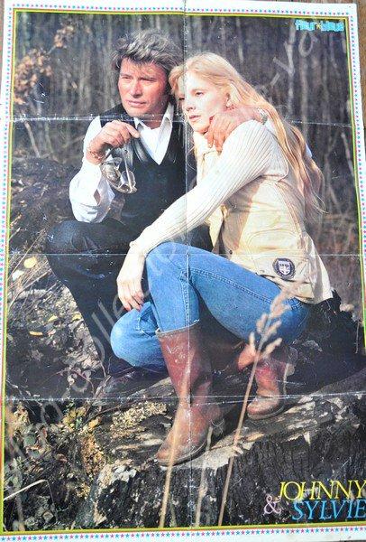 SUITE  MAGAZINE FLEUR BLEU  , NUMERO 16 DE 1978 LE POSTER  EN ENTIER
