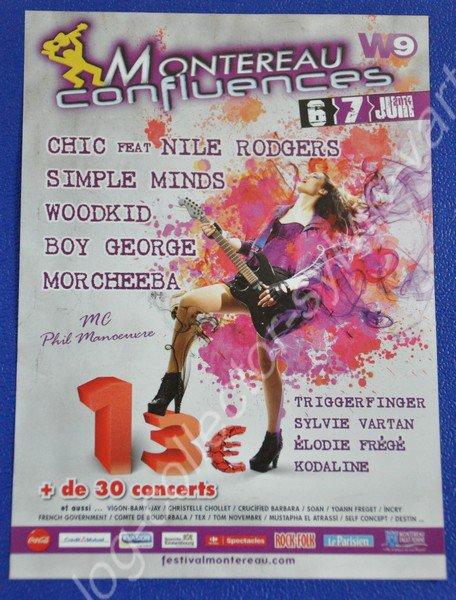 Sylvie au festival Montereau confluences  le 6 et 7 juin 2014