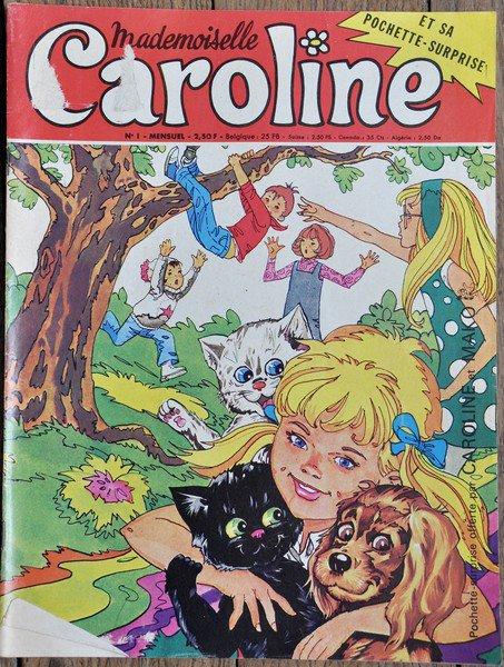 magazine Caroline avec une mini bd sur sylvie vartan le mois de mai 1971