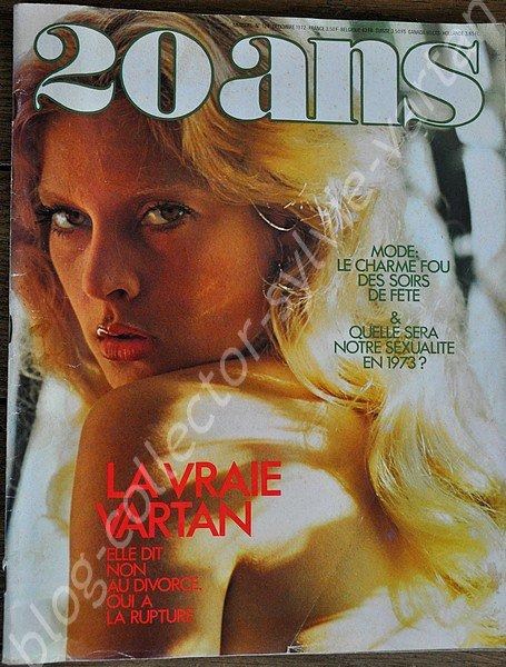 magazine 20ans  du mois de décembre 1972 mensuel n°124