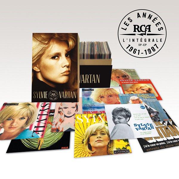 nouveau coffret l'integrale des 45tours chez rca en 85  cd de 1961 a 1987