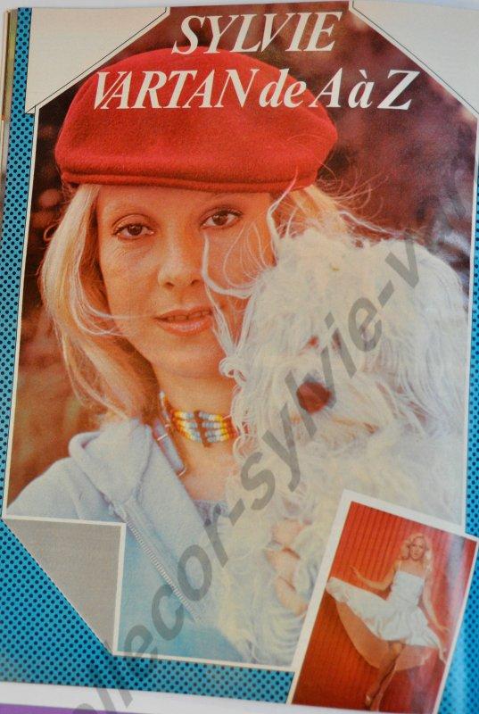 podium novembre 1980 numéro 105 article Sylvie e A à Z