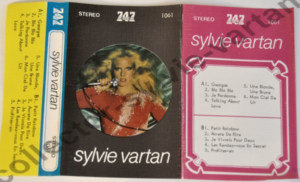 cassette audio 747 n°1061 Sylvie Vartan 1977