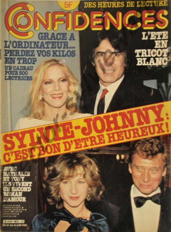 magazine condidences  numéro 1853 du 10 au 16 juin 1983