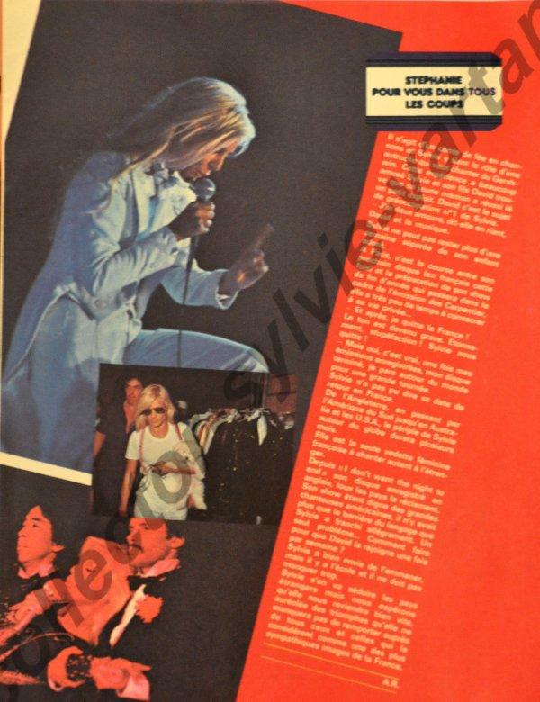 magazine le nouveau Stéphanie numéro 57 novembre 1979