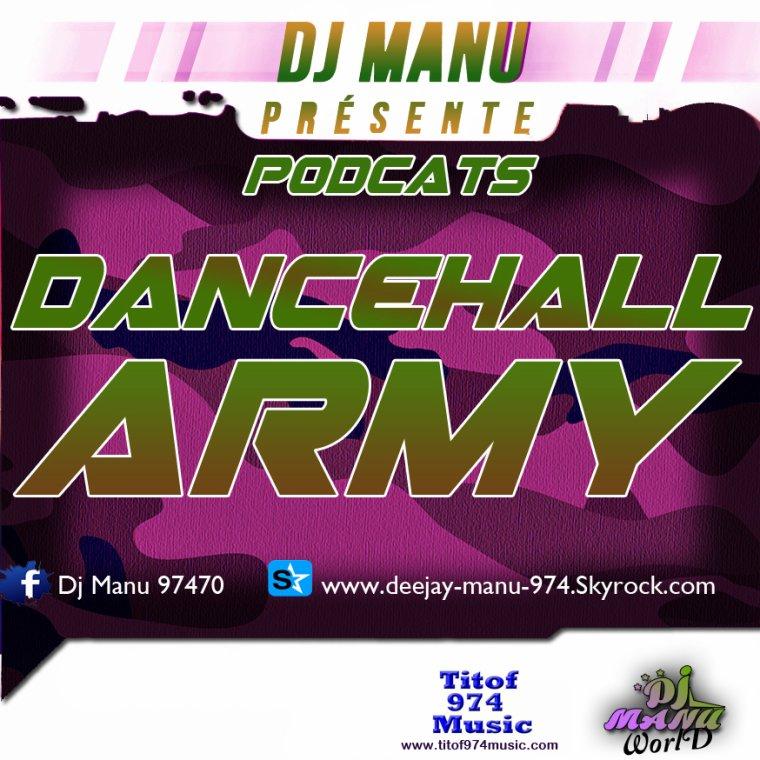 DJ MANU PODCATS DANCEHALL ARMY 2015 NOUVOTER !