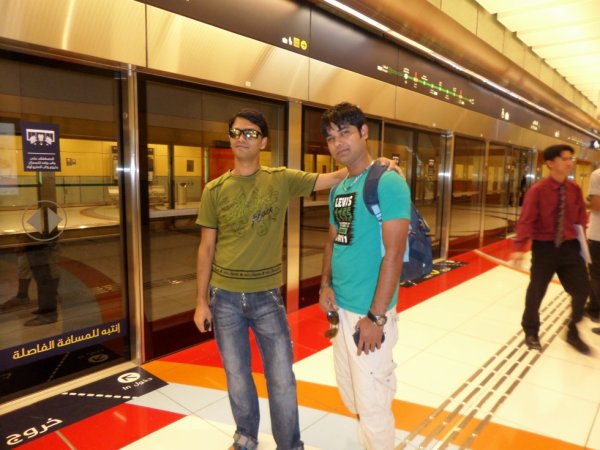 in dubai metro
