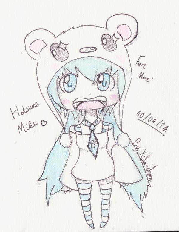 Chibi hatsune miku!