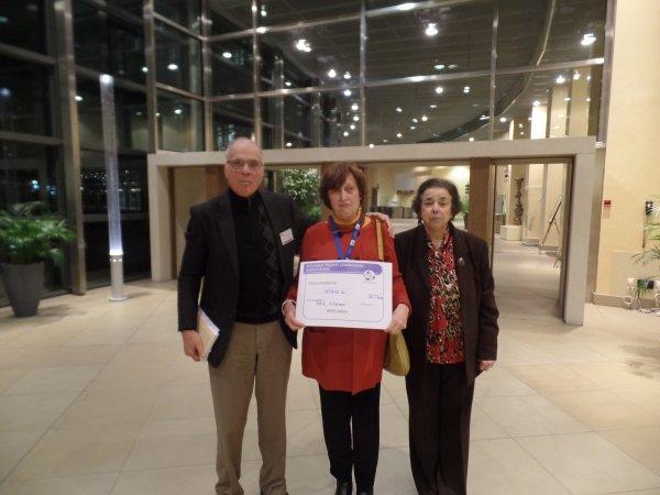 Schuman Trophy: Cérémonie de remise des chèques 17 Janvier 2018