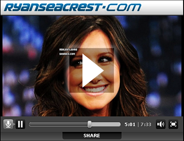 *  Nouvelle photo Twitter + Interview de Ryan Seacrest. * Elle a une superbe voix dans l'interview.*