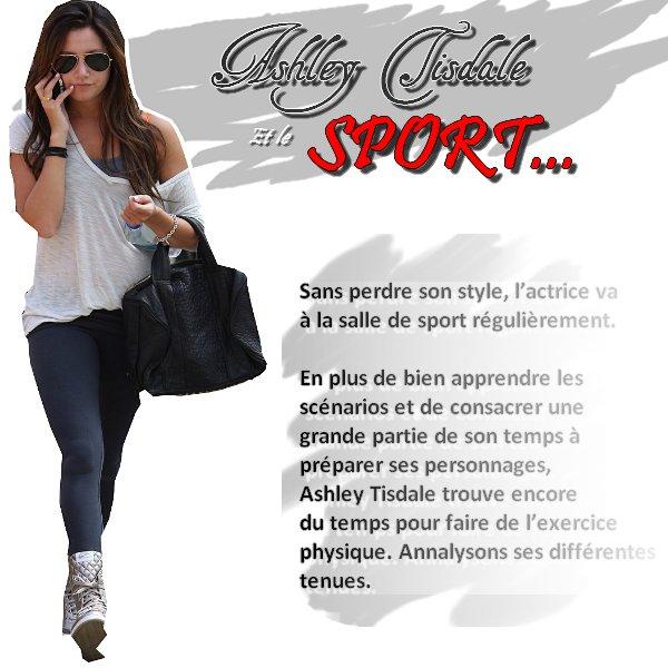 * Ashley Tisdale et le sport... * Ca donne quoi?*